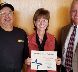Charles City Entrepreneurs Chosen for Small Business of the Month Award