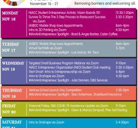 The NIACC Pappajohn Center & SBDC Celebrates Global Entrepreneurship Week 2020